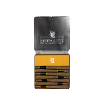 7pack of Baxter blunts premium cannabis flower available for sale in Ottawa by the Green Mates same day weed delivery
