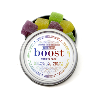 Buy Boost 3000mg CBD gummies available for sale in Ottawa by the Green Mates same day weed delivery