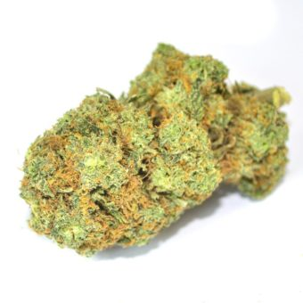 $13/g Lindsay OG cannabis indica flower available for sale in Ottawa by the Green Mates same day weed delivery